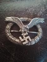 Német náci ss birodalmi jelvény kitüntetés