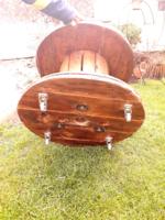 Tömör fa legalább 20 kilós asztal loft ipari design