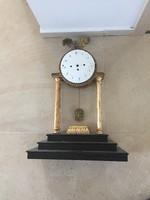 Nagyméretű Korai Empire kandalló óra