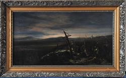 Ismeretlen művész: A wagrami csata