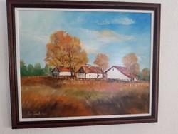 Papp Tünde festmény 40x50-es új keretben eladó!
