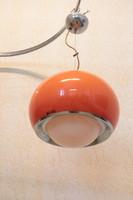 Retro narancssárga lámpabúra