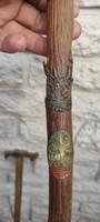 Séta pàlca, séta bot, Szarvas, maga az eredeti fa forma, természetes, gyönyörű!! Antik régi darab