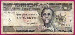 # Külföldi pénzek:  Etópia: 1998 - 1 Birr