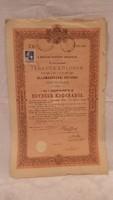 Járadékkölcsön Államadóssági kötvény 1903 ( 1000 Korona )
