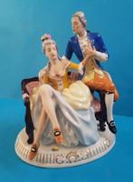 Royal Dux porcelán , Udvarlás, HIBÁS