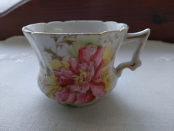 Szecessziós mokkás csésze kb. 1860-ból