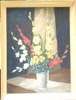 Markó Erzsébet: Virágcsendélet