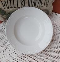 Gyönyörű ritka MZ Altrohlau gyöngyös mélytányér  tányér nosztalgia