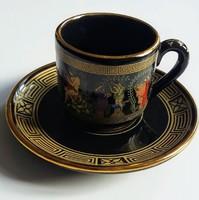 Adis 24 karátos kézzel készített aranyozott kávéskészlet