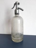 Weisz Mano szikvízgyára, szódásüveg