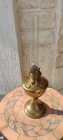 Réz asztali lámpa régi petróleum olaj lámpa, íróasztal làmpa, különleges