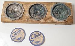 """Antik """"GLORIA"""" márkájú mécses öntőforma /iparos szerszám"""