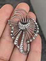 Ezüst gyűrű antik medál
