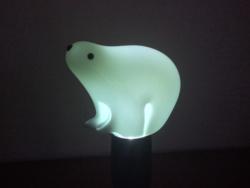 Muránói jegesmedve design kedvelőknek.