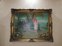 Blondel Képkeret (Falc: 100,5x75,5cm)