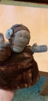 Több mint 100 éves antik kesztyűs BÁB