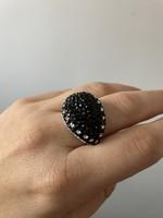 Ezüst gyűrű gyönyörű elegáns ékszer