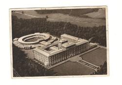 1939 Deutsches Reich német Képeslap Bad Bramstedt Hindenburg bélyeggel DR Németország u7