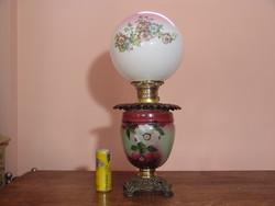 Gone With The Wind virágminta dekorációs petróleum lámpa