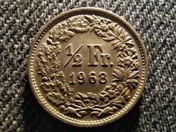 Svájc 1/2 Frank 1968 (id26289)