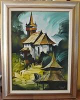 Fassel Ferenc - Torony 70x50 cm 580 000 Ft