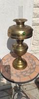 Asztali lámpa réz, petróleum olaj lámpa íróasztal làmpa, különleges ritka! Videó is!!