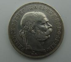 Ferencz József ezüst 2 Korona 1913-as, Körmöcbánya