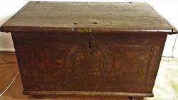 XVIII. századi  Antik fa láda