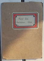 1946 Cserkész napló, gazdagon díszítve (rajzokkal) 1946 Turul Örs Belecska Kitelepítés, Svéd segély