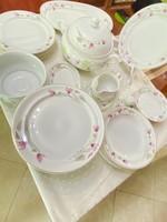 Hollóházi, Nagy 28 darabos porcelán Étkészlet