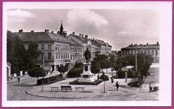 C - - - 066  Magyar tájak-városok: Sopron 1956 - Széchenyi-tér
