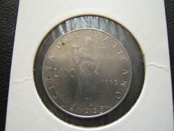 Vatikán 100 líra 1963