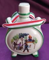 Régi porcelán butykos - 9,5 cm.