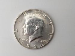 1964 ezüst Kennedy Half dollár