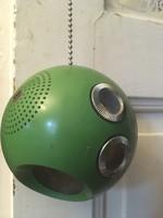 Ritka Működő Panasonic Panapet R-70 gömb rádió 1969-ből