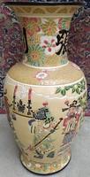 Nagy kínai váza - jelzett - 60 cm.
