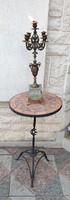 Akció Vas kávézó,kerti bútor, asztal1 db állvány, mozaik a tetején! 71,5cm magas.Kerti parti grilll