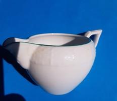 Herendi fehér teás tejkiöntő