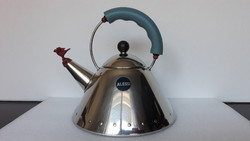 Most popular alessi design, iconic bird kettle