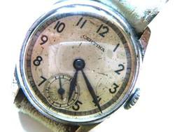 Certina 1944 svájci karóra, jelzett arany csattal, sorszám 888281