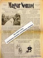 1993 február 25  /  MAGYAR NEMZET  /  SZÜLETÉSNAPRA RÉGI EREDETI ÚJSÁG Ssz.:  4234