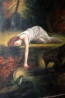 Antik festmény 729