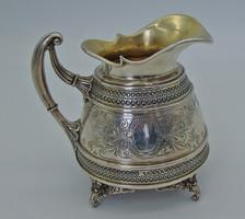 Álomszép antik dianás ezüst kiöntő