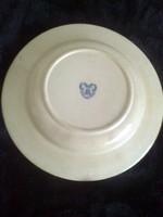 Zsolnay ,régi,ritka tányér ,kék pajzsos pecséttel