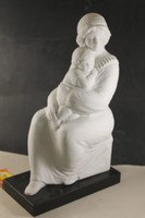Szignált képcsarnokos szobor 726