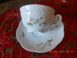 Zsolnay Barackvirág mintás teás csésze