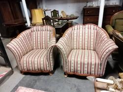 Biedermeier fotel párban
