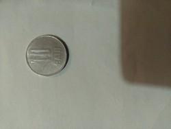 Román fémpénz 10 banis 2009. évből eladó.