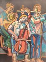Józsa János festőművész Művészetek